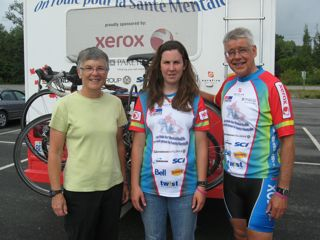 Carol, Lindsay & Mel Thompson