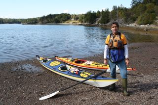 Bruce Smith of Seascape Kayak Tours
